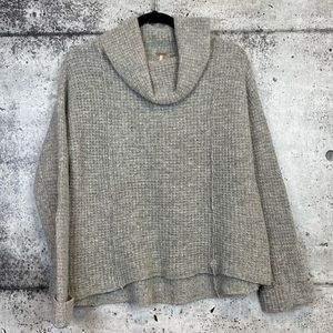 Free People // Waffle Knit Turtleneck